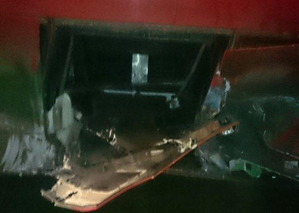 Под Анапой в междугородний автобус влетел BMW (фото) - фото 1