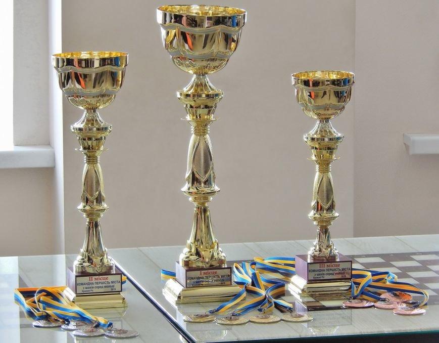В Кривом Роге определили команду-чемпиона города по шахматам среди молодежи (ФОТО) (фото) - фото 2