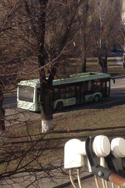 Електробус українського виробництва продовжує курсувати вулицями Львова у тестовому режимі (ФОТО) (фото) - фото 1