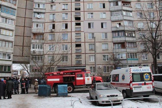 На Салтовке горела квартира в многоэтажке (ФОТО) (фото) - фото 1