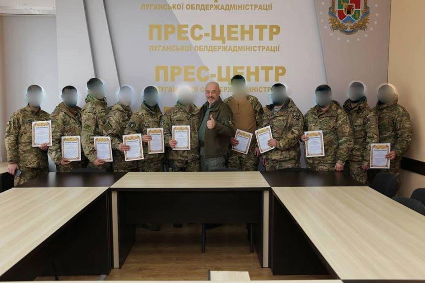 Георгий Тука наградил самых отважных военных в Луганском регионе (ФОТО), фото-1