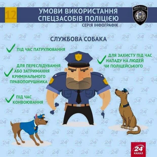 Як має діяти поліцейський у скрутних ситуаціях? (Інфографіка) (фото) - фото 1