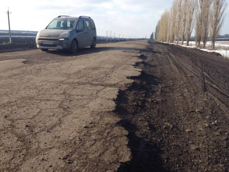 b1cd53ca3280e8ee5fba8d8dbf3e344a В Одесской области нашли дорогу хуже, чем трасса на Измаил