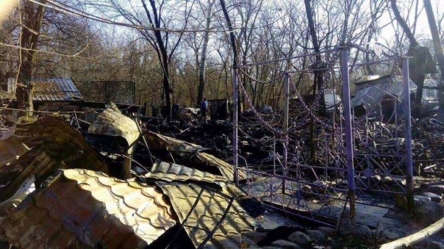 В Гидропарке сгорело кафе (ФОТО), фото-1