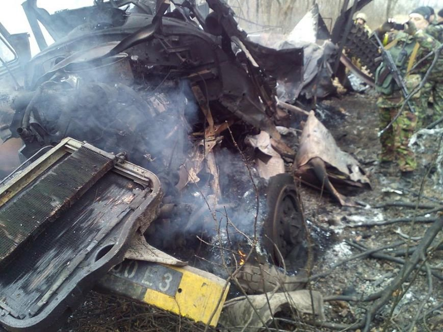 В зоне АТО на мине подорвался грузовик батальона «Полтава», фото-3