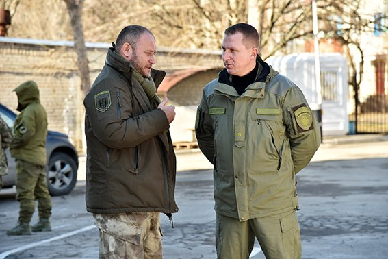 Начальник Главка Нацполиции в Донецкой области встретился с Ярошем (фото) - фото 1