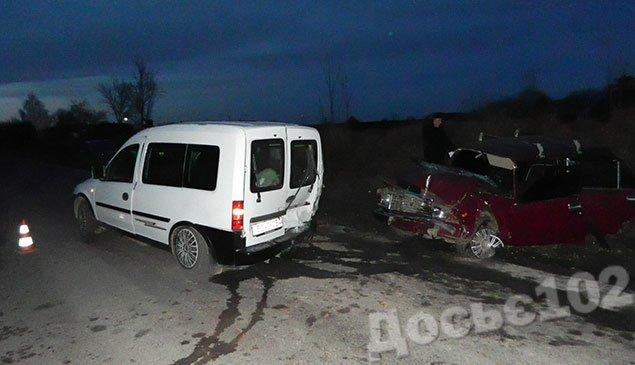На Тернопільщині зіткнулися ВАЗ і «Опель». Постраждали п'ятеро людей (ФОТО) (фото) - фото 2
