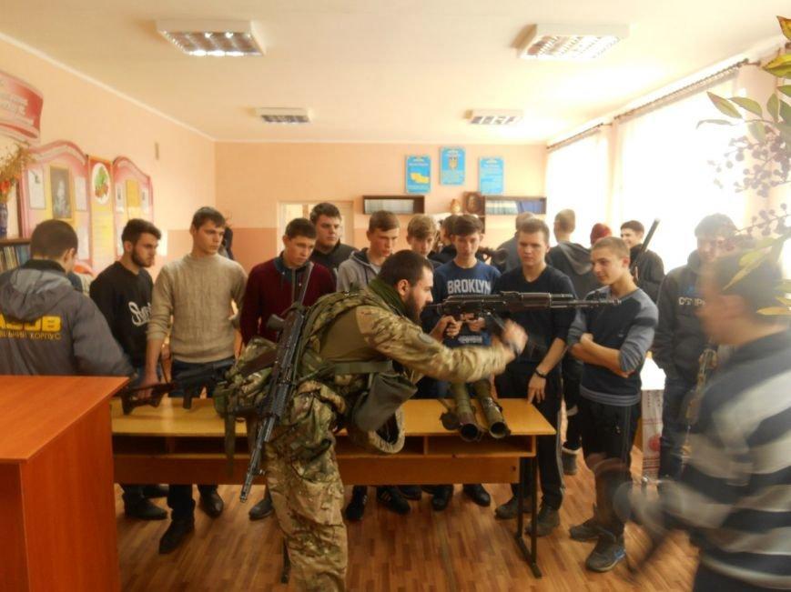 Урок мужества в Белозерском горном лицее (фото) - фото 1