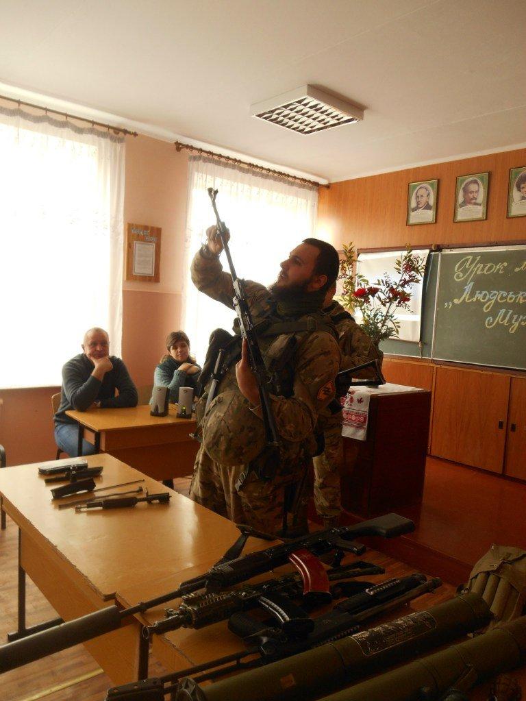 Урок мужества в Белозерском горном лицее, фото-2