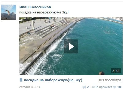 Видео: в Ялте на набережной приземлился парапланерист, фото-1