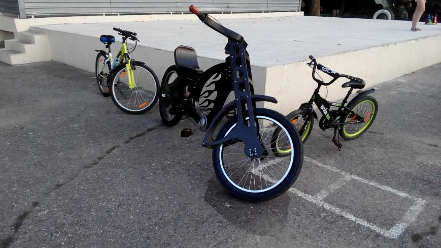 Одессит создает уникальные деревянные велосипеды (ФОТО) (фото) - фото 1