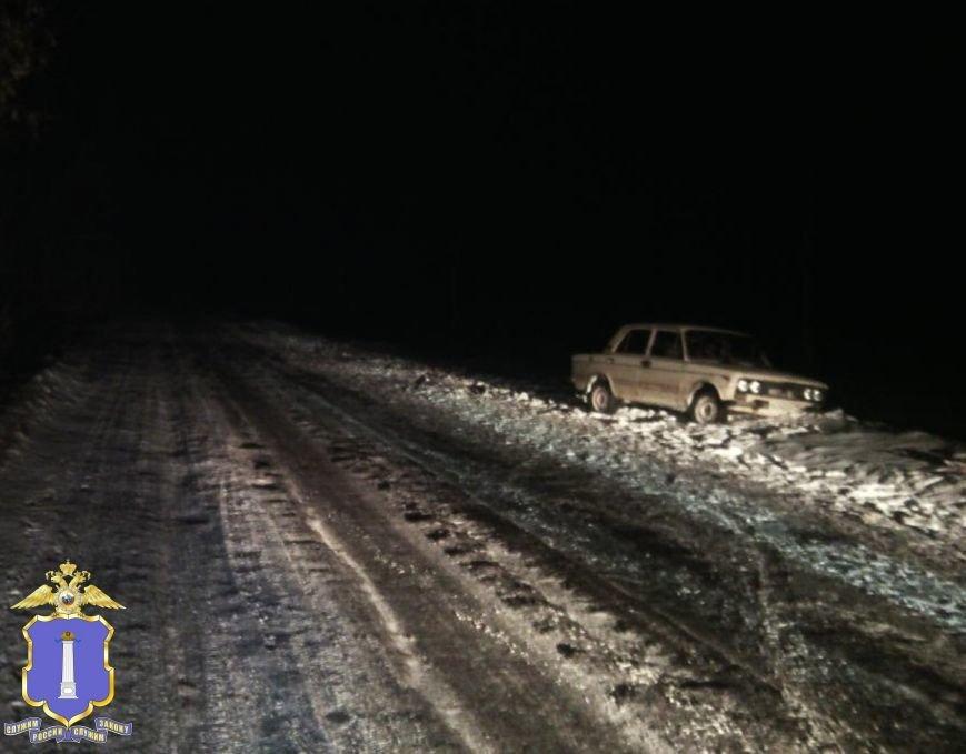 Под Ульяновском пьяный водитель сбил пешехода (фото) - фото 1