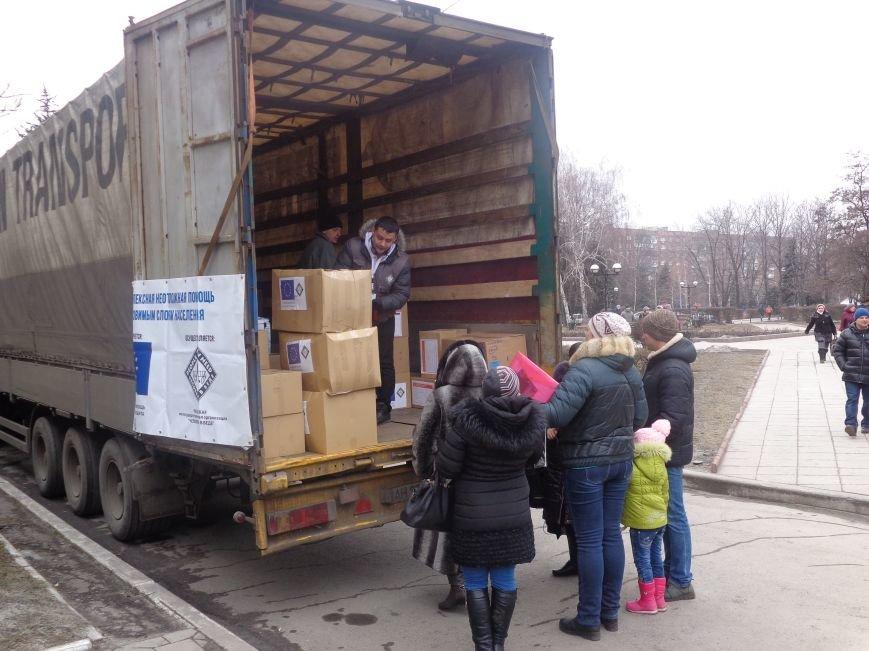 В Красноармейск приехала гуманитарная помощь для переселенцев (фото) - фото 2