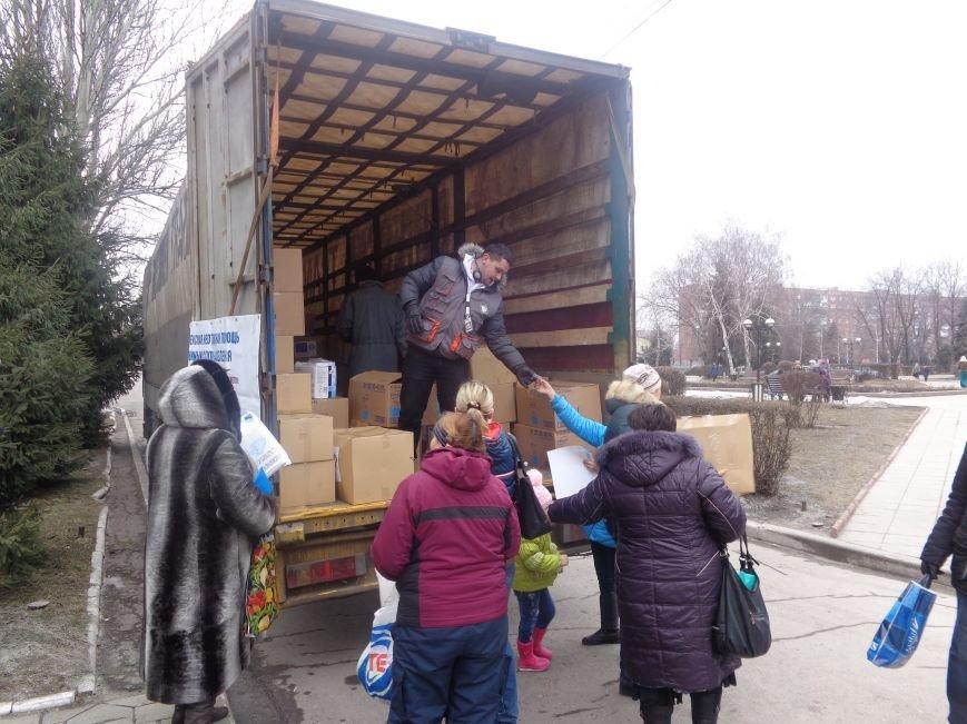 В Красноармейск приехала гуманитарная помощь для переселенцев (фото) - фото 4