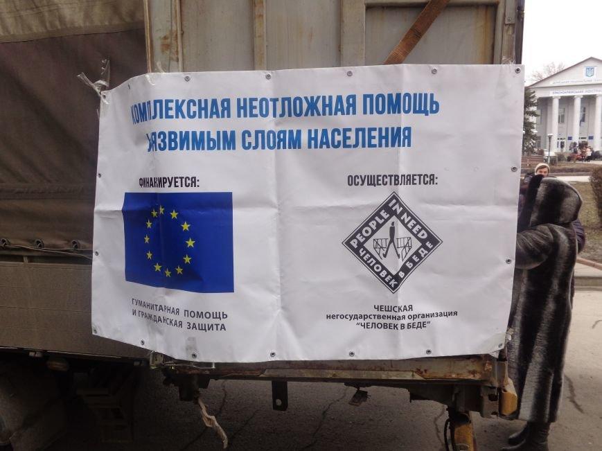 В Красноармейск приехала гуманитарная помощь для переселенцев (фото) - фото 3