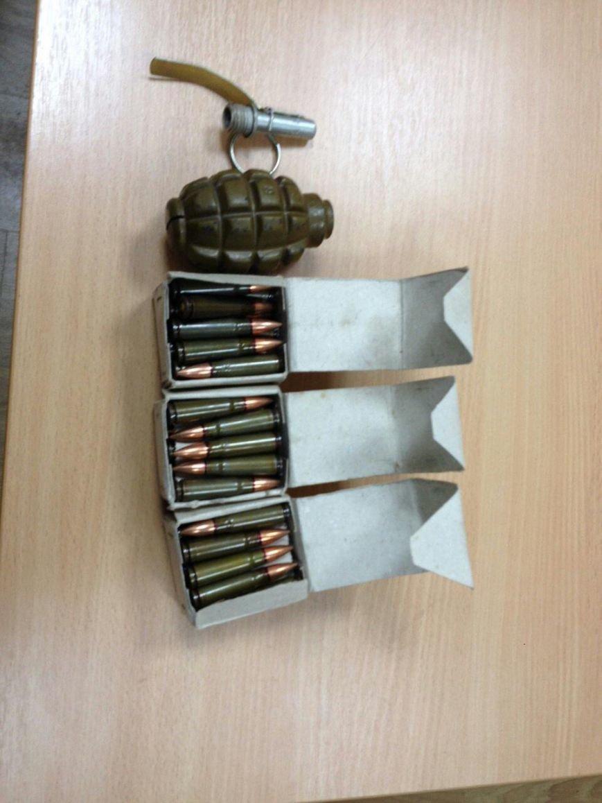 С Днепропетровской области  гранатометы, патроны и гранату пересылают почтой (ФОТО) (фото) - фото 1