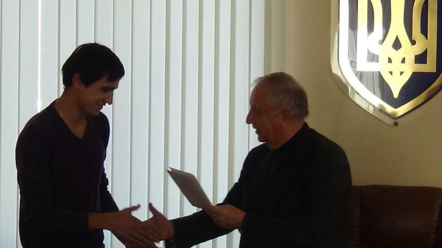 Пять спортсменов-ильичёвцев будут получать стипендию городского головы (+фото) (фото) - фото 6