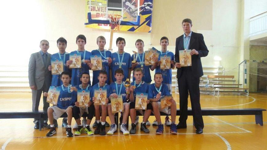 Баскетбольный клуб « Каспий» и подрастающая смена (фото) - фото 1