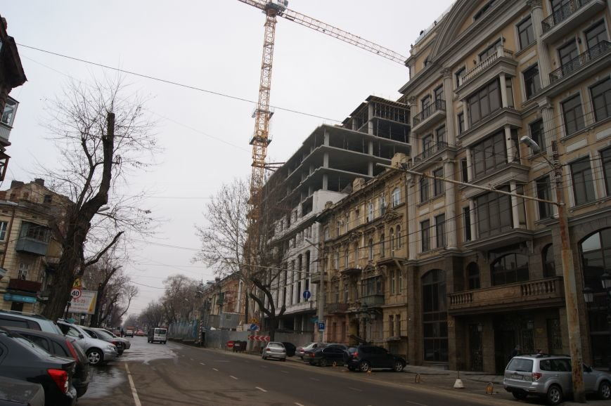 Строительство в центре Одессы разрушает памятник архитектуры (ФОТО) (фото) - фото 1