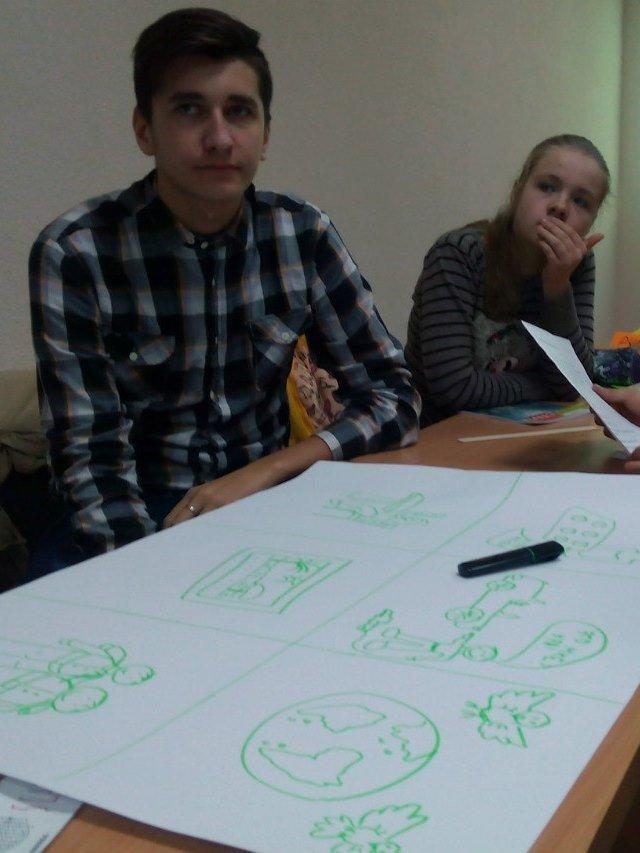 В Северодонецке студенты обсуждали актуальные проблемы переселенцев (ФОТО) (фото) - фото 1