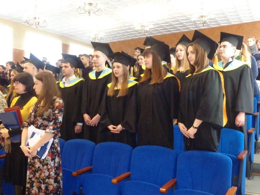 В ДонНТУ Красноармейска прошла церемония вручения дипломов магистрам вуза (фото) - фото 3