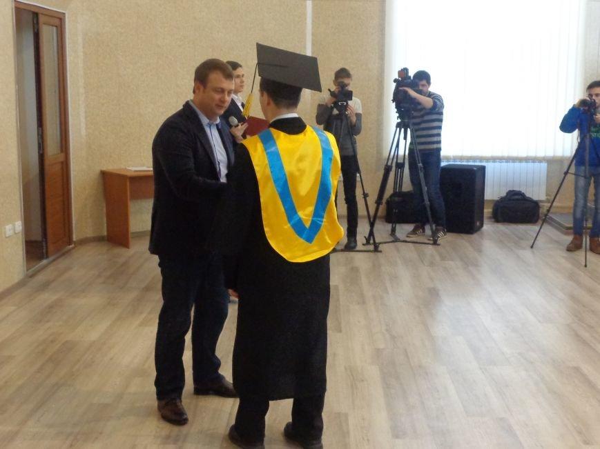 В ДонНТУ Красноармейска прошла церемония вручения дипломов магистрам вуза (фото) - фото 7