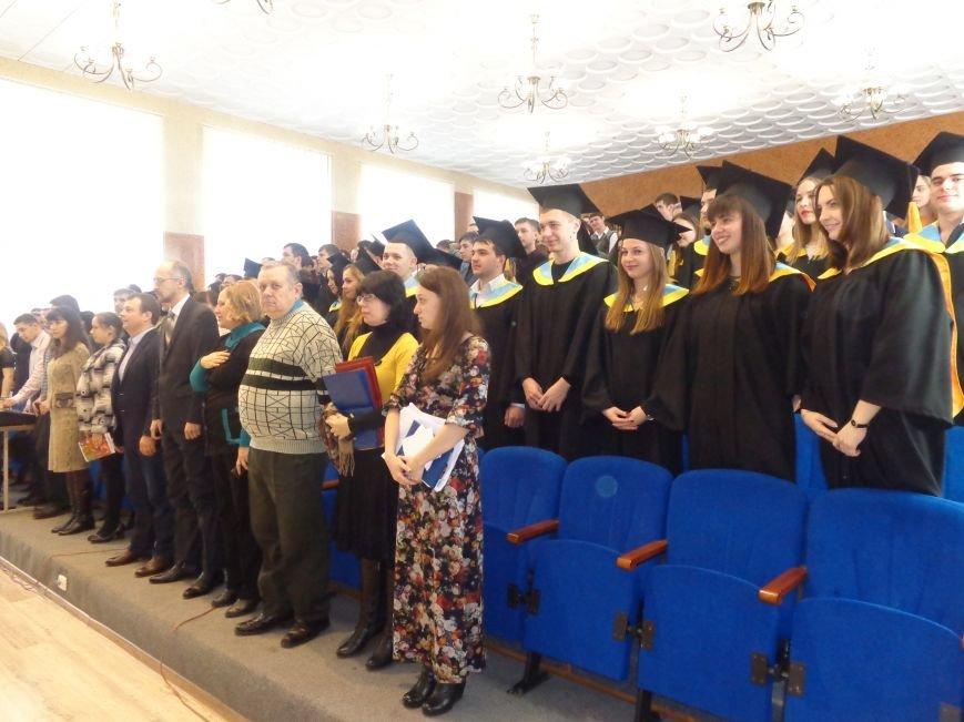 В ДонНТУ Красноармейска прошла церемония вручения дипломов магистрам вуза (фото) - фото 1