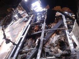 В Мариуполе горела двухэтажка (ФОТО) (фото) - фото 1