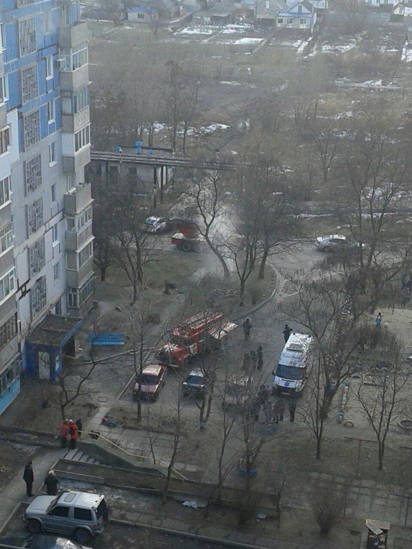 На пр. Мира загорелся многоэтажный дом (ФОТО) (фото) - фото 2