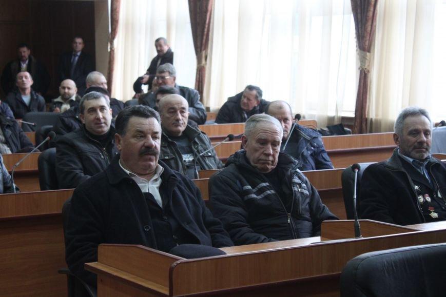 В Ужгородській міській раді відбулась зустріч із ветеранами Афганістану (Фото) (фото) - фото 1