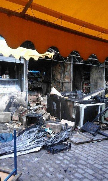 Макеевчанам о подробностях ночного пожара на Крытом рынке в Донецке (добавлено фото) (фото) - фото 4