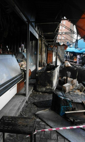 Макеевчанам о подробностях ночного пожара на Крытом рынке в Донецке (добавлено фото) (фото) - фото 5