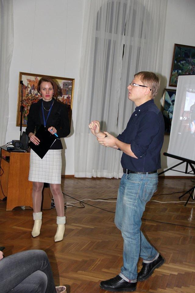 Київський письменник презентував у Черкасах свій психотрилер (ФОТО) (фото) - фото 1