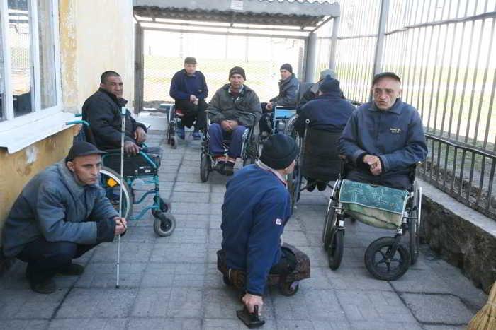 тюрьма для инвалидов