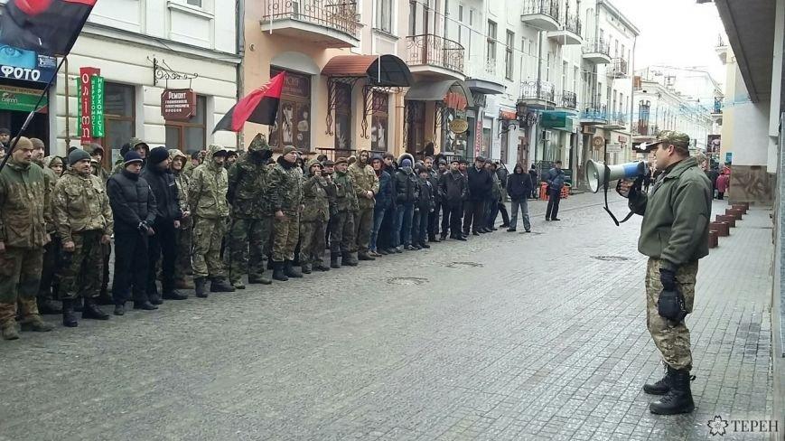 У Тернополі пікетують обласну поліцію (Фото, відео) (фото) - фото 1