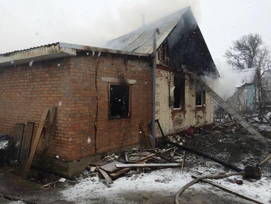 Под Киевом мужчина пытался сжечь дом с раненой внутри (ФОТО) (фото) - фото 3