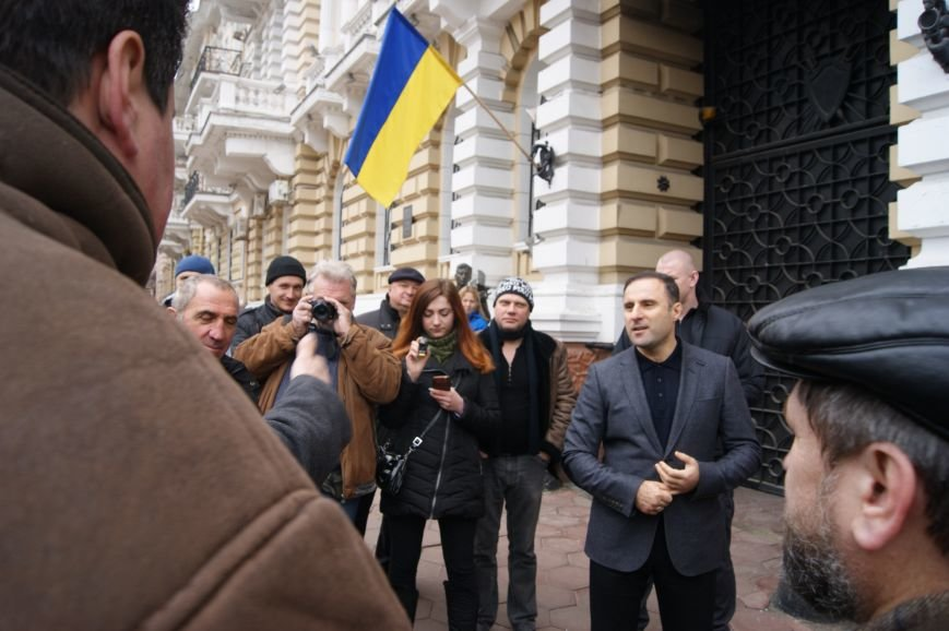 Лорткипанидзе: В связи с уходом Мчедлишвили, работа одесской милиции не изменится (ФОТО, ВИДЕО) (фото) - фото 1