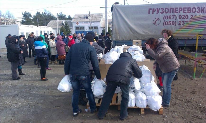 139 пакетов с гуманитаркой из Будапешта передали жителям модульного городка в Павлограде (фото) - фото 2