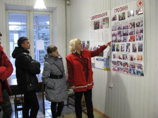 Добропольская «Лига будущих полицейских» побывала в гостях у Красного Креста, фото-4