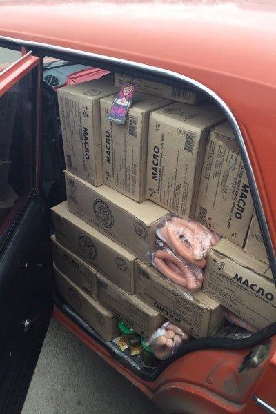 В Бахмуте «Фантом» задержал нелегальную партию продуктов (фото) - фото 1