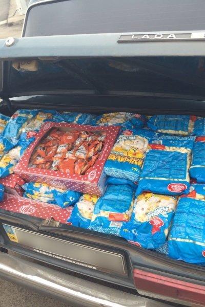 В Бахмуте «Фантом» задержал нелегальную партию продуктов, фото-2
