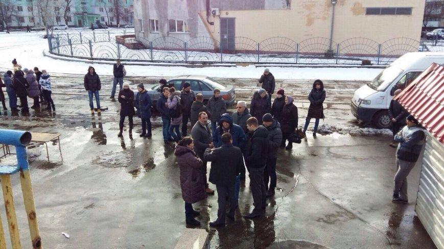 На Оболони торговцы устроили драку с полицией (ФОТО), фото-2