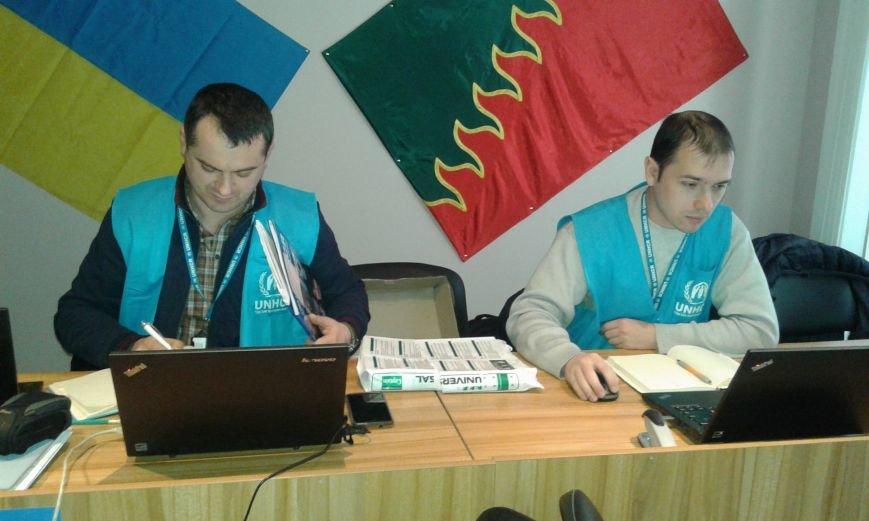 В Авдеевке переселенцы получили финансовую помощь Агентства ООН по делам беженцев (ФОТО), фото-3