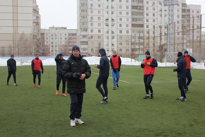 Белгородский «Энергомаш» готовится к весенней части первенства, фото-1