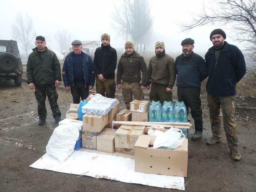 Представители Николаевщины отвезли гуманитарный груз бойцам в зону АТО (ФОТО) (фото) - фото 4