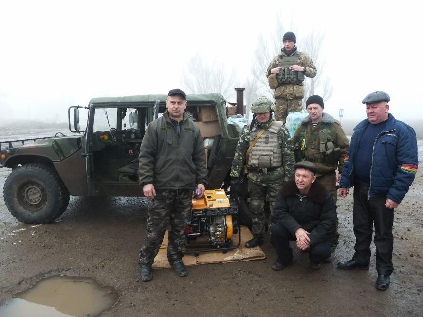 Представители Николаевщины отвезли гуманитарный груз бойцам в зону АТО (ФОТО) (фото) - фото 2