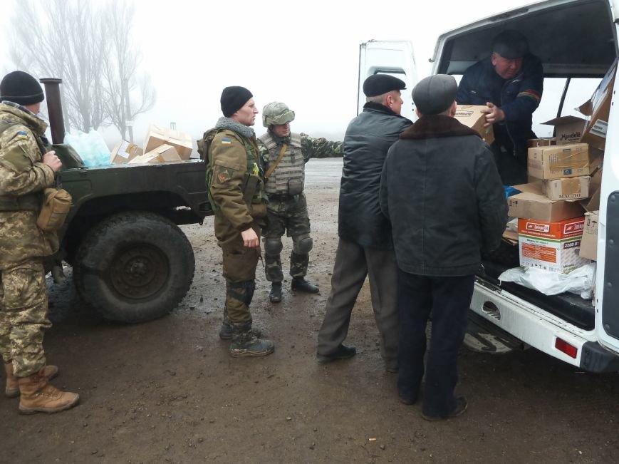 Представители Николаевщины отвезли гуманитарный груз бойцам в зону АТО (ФОТО) (фото) - фото 1
