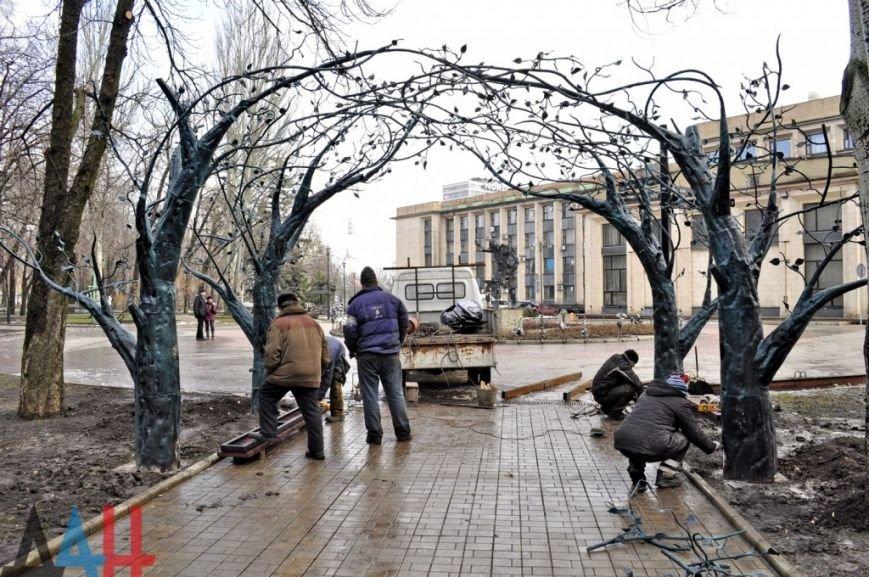 Легендарную беседку из Донецкого аэропорта установили в Парке кованых фигур (фото) (фото) - фото 2
