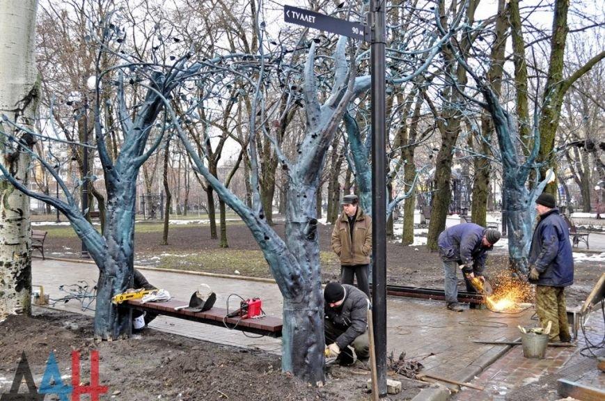 Легендарную беседку из Донецкого аэропорта установили в Парке кованых фигур (фото) (фото) - фото 1