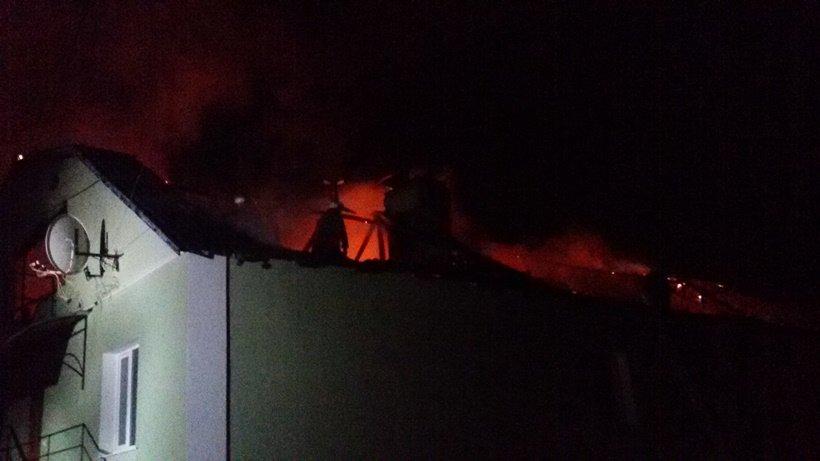 В Киевской области сгорело административное здание (ФОТО) (фото) - фото 1
